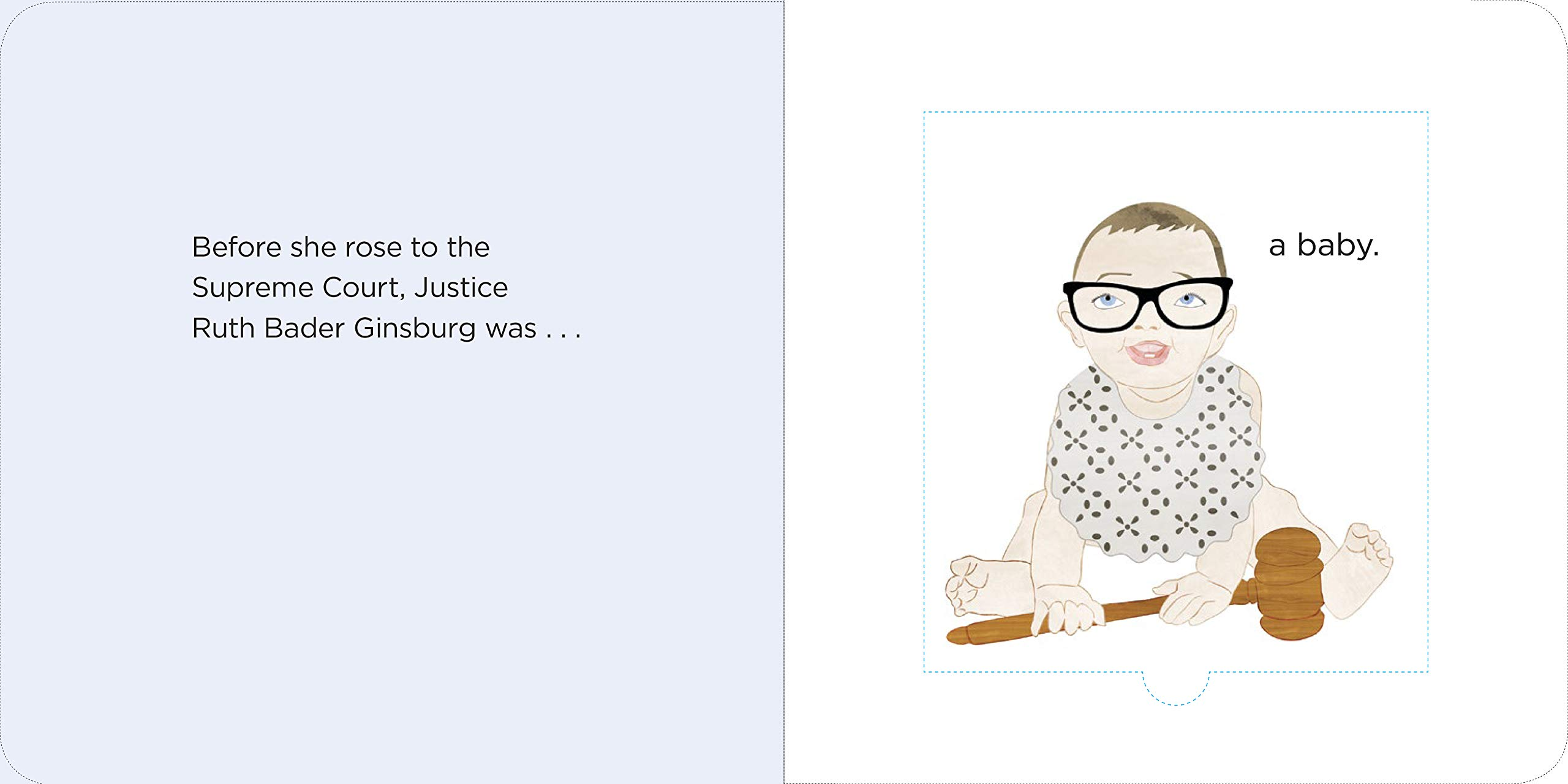 Books About Ruth Bader Ginsburg for Children of All Ages (including you!)